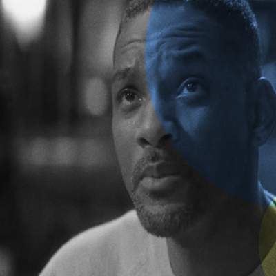 A still image of Will Smith in his 2016 film, _Collateral Beauty_
