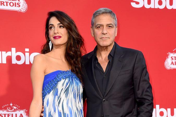 Amal George Clooney Twins