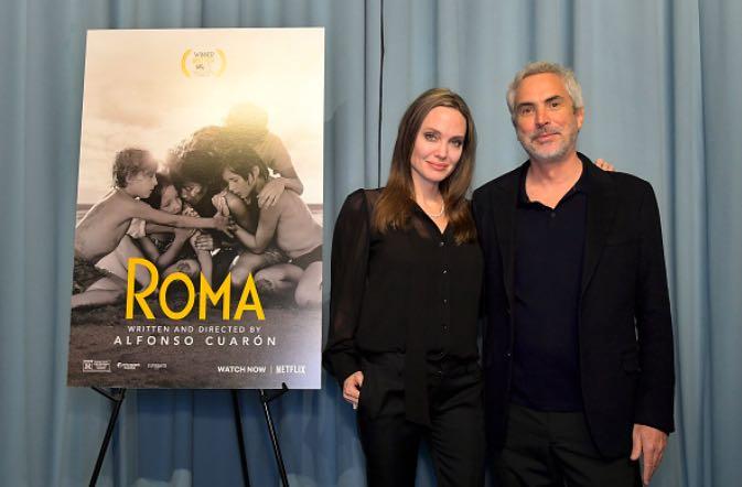 Angelina Jolie Alfonso Cuaron