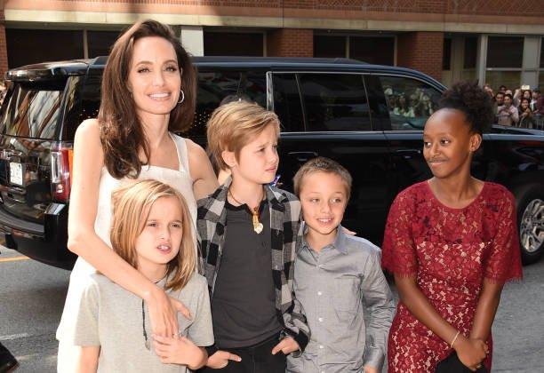 Angelina Jolie Brad Pitt Custody Kids