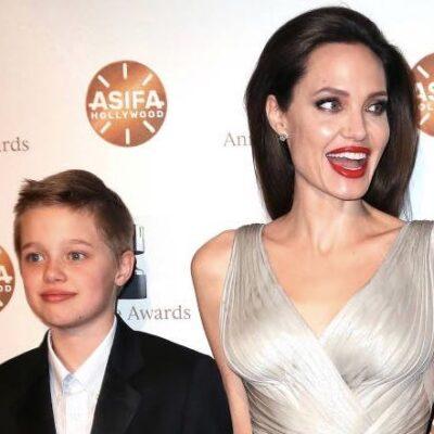 Angelina Jolie Brad Pitt Daughter Shiloh Living