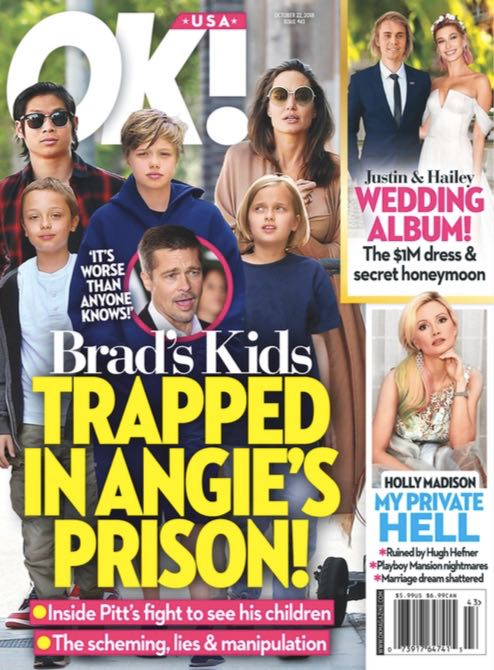 Angelina Jolie Brad Pitt Kids Prison
