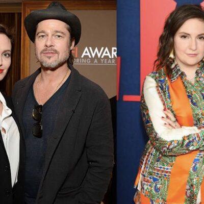 Angelina Jolie Brad Pitt Lena Dunham