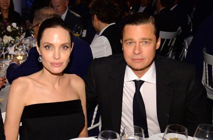 Angelina Jolie Brad Pitt Meeting