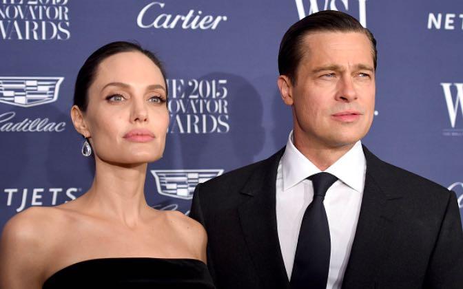 Angelina Jolie Brad Pitt reconnect