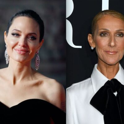Angelina Jolie Celine Dion