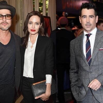 Angelina Jolie Colin Farrell Brad Pitt
