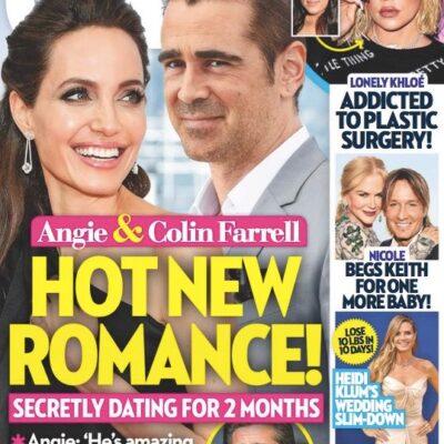 Angelina Jolie Colin Farrell Secretly Dating