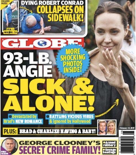 Angelina Jolie Health Brad Pitt Charlize Theron