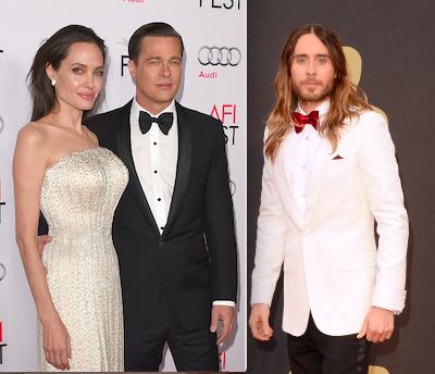 Angelina Jolie Jared Leto Brad Pitt