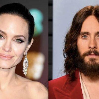 Angelina Jolie Jared Leto Brad Pitt Divorce