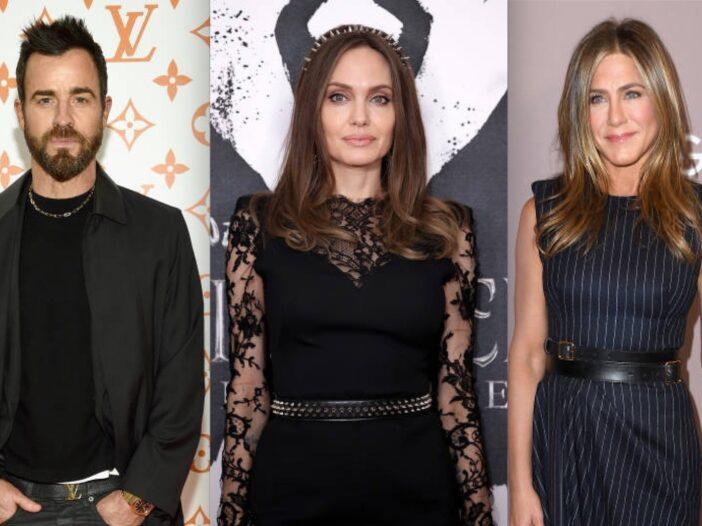 Angelina Jolie Jennifer Aniston Justin Theroux Movie