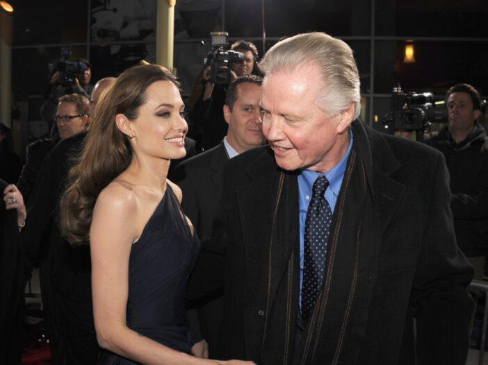 Angelina Jolie Jon Voight Brad Pitt