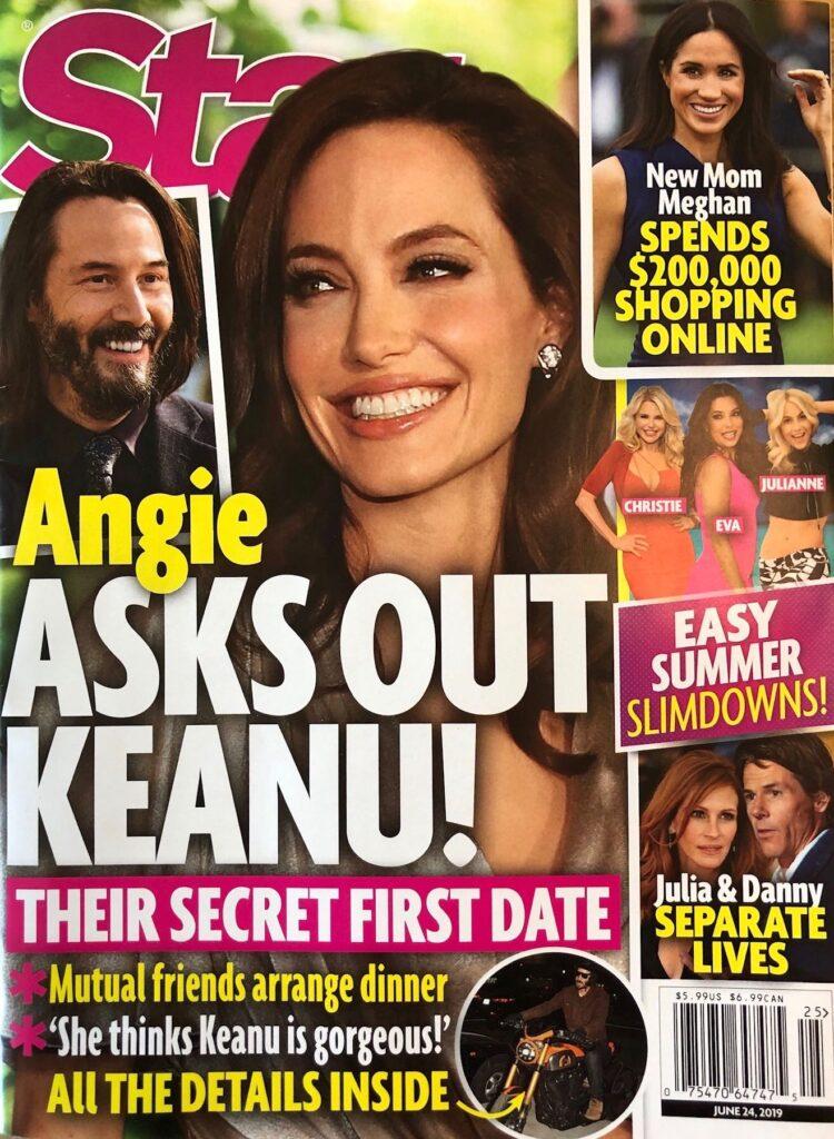 Angelina Jolie Keanu Reeves Date