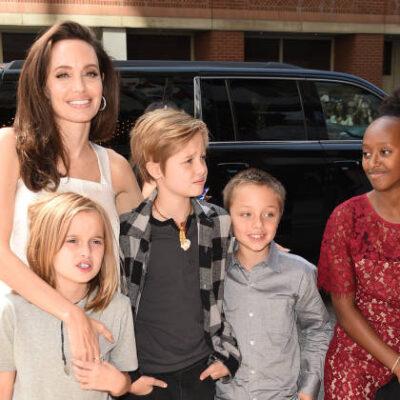 Angelina Jolie Kids Museum London