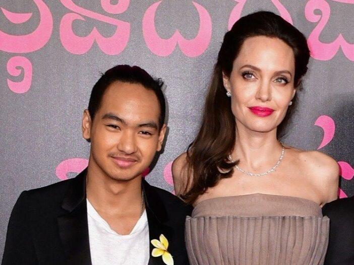 Angelina Jolie Maddox College