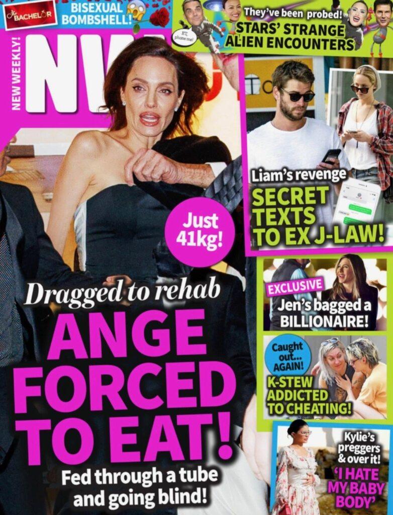 Angelina Jolie Rehab Eating Issues
