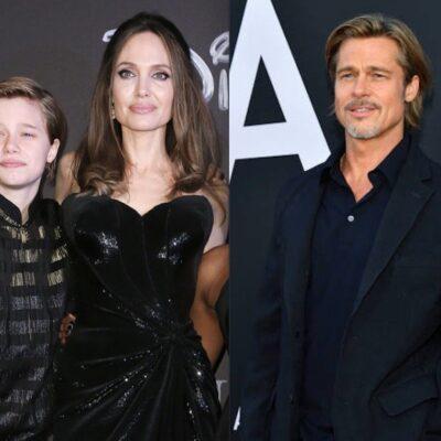 Angelina Jolie Shiloh Brad Pitt