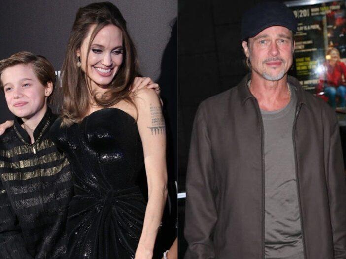 Angelina Jolie Shiloh Brad Pitt Begging Save