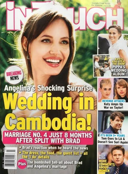 Angelina Jolie Wedding Cambodia