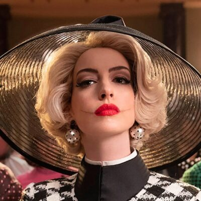 Anne Hathaway as the Grand High Witch in _The Witches_