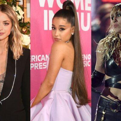 Ariana Grande Miley Cyrus Kaitlynn Carter jealous