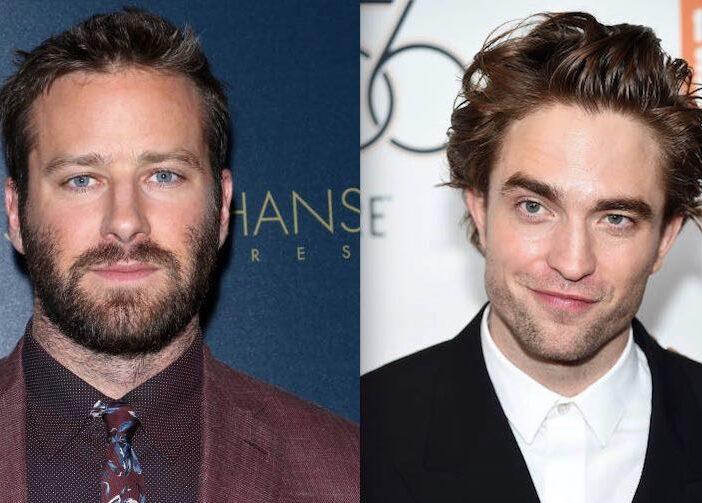Armie Hammer Robert Pattinson Batman
