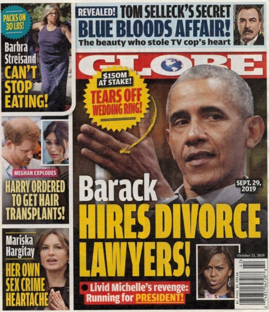 Barack Obama Michelle Divorce