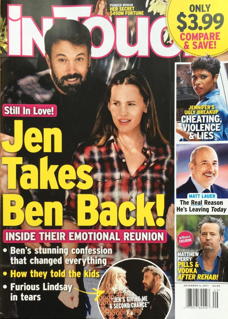 Ben Affleck Jennifer Garner Back Together