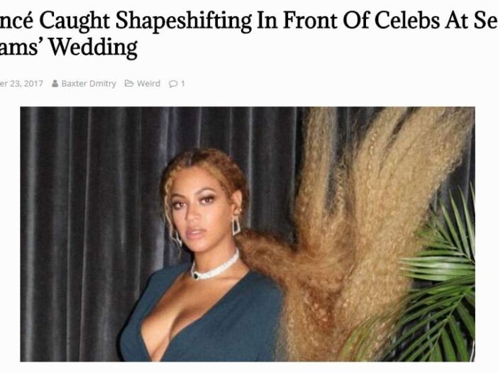 Beyonce Shapeshifting