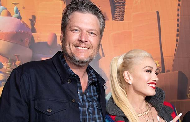 """Blake Shelton and Gwen Stefani attend the after party for the STX films world premiere of """"Ugly Doll"""