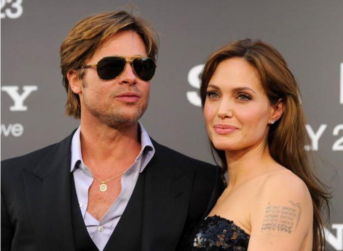 Brad Pitt Angelina Jolie Bodyguard