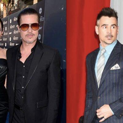 Brad Pitt Angelina Jolie Colin Farrell Dating