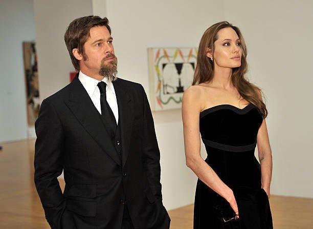 Brad Pitt Angelina Jolie Custody Meltdown