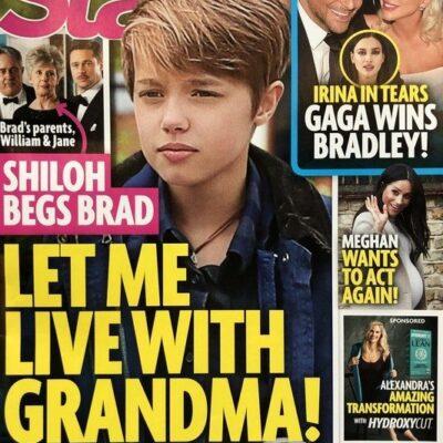 Brad Pitt Angelina Jolie Daughter Shiloh