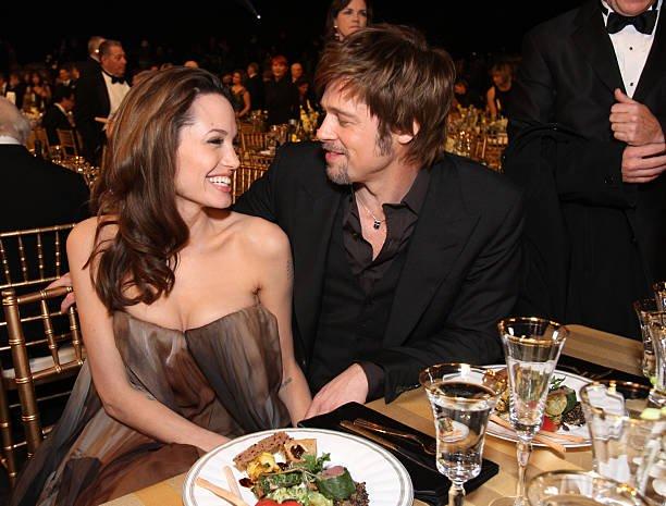 Brad Pitt Angelina Jolie Thanksgiving