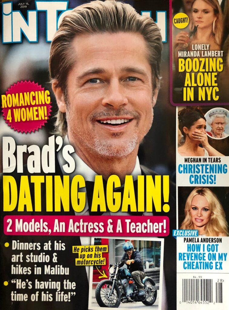Brad Pitt Dating Romance