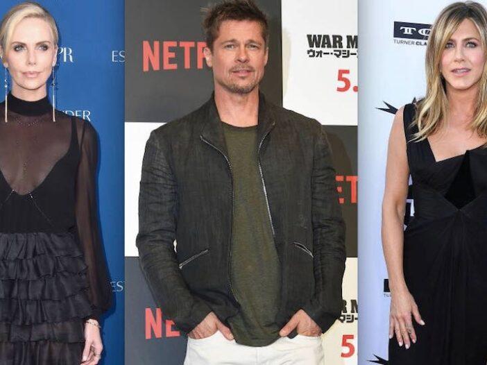 Brad Pitt Dumped Jennifer Aniston Charlize Theron