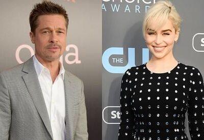 Brad Pitt Emilia Clarke New Couple