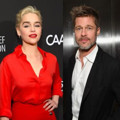 Brad Pitt Emilia Clarke