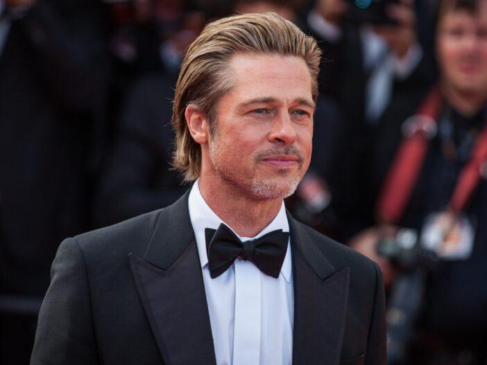 Brad Pitt in a tuxedo.