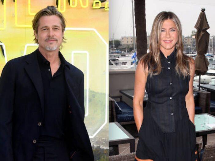 Brad Pitt Jennifer Aniston Books Movies
