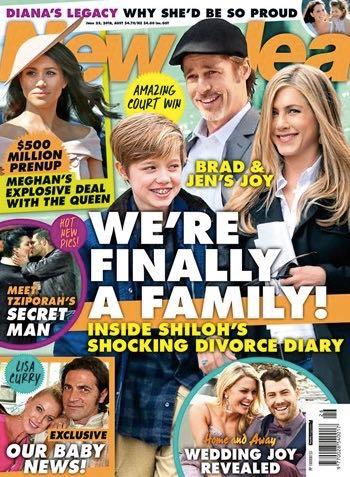 Brad Pitt Jennifer Aniston Kids