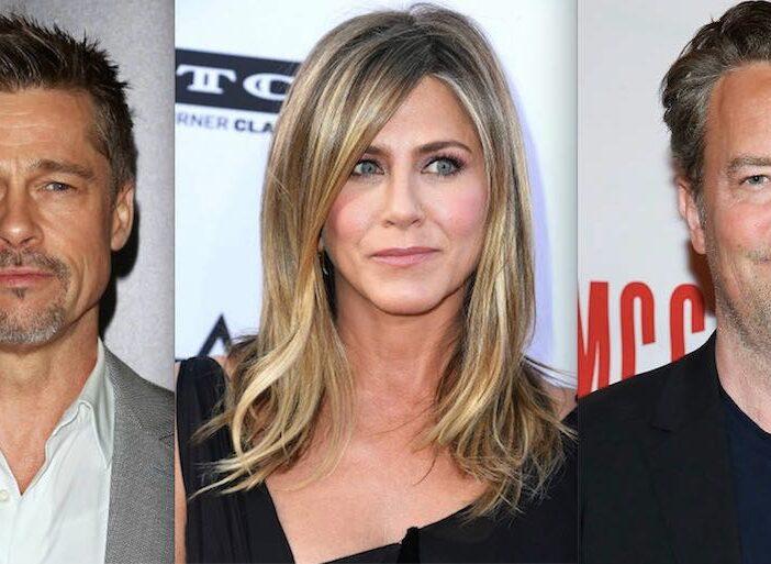 Brad Pitt Jennifer Aniston Matthew Perry