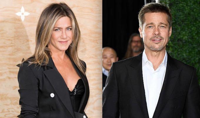 Brad Pitt Jennifer Aniston Married Again Single