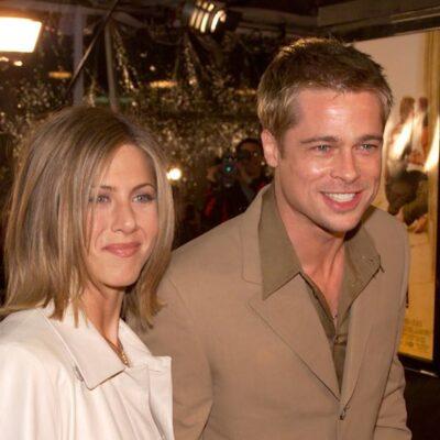 Brad Pitt Jennifer Aniston Proposal