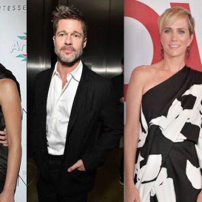 Brad Pitt Jennifer Lawrence Charlize Theron