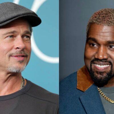 Brad Pitt Kanye West Shiloh