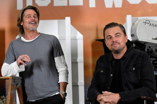 Brad Pitt Leonardo DiCaprio Bromance