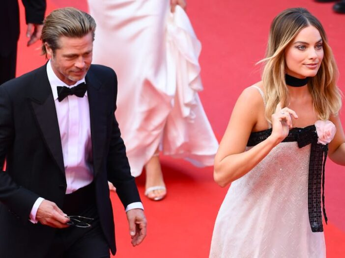 Brad Pitt Margo Robbie